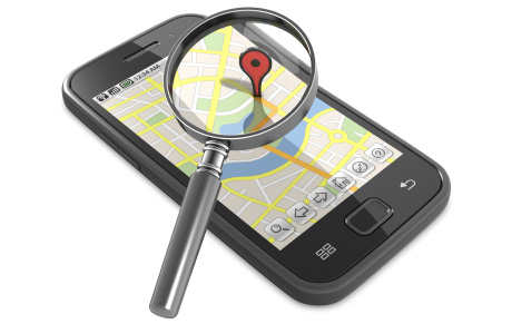Suivi tracker GPS on smartphone iOS Android, tracking GPS SMS